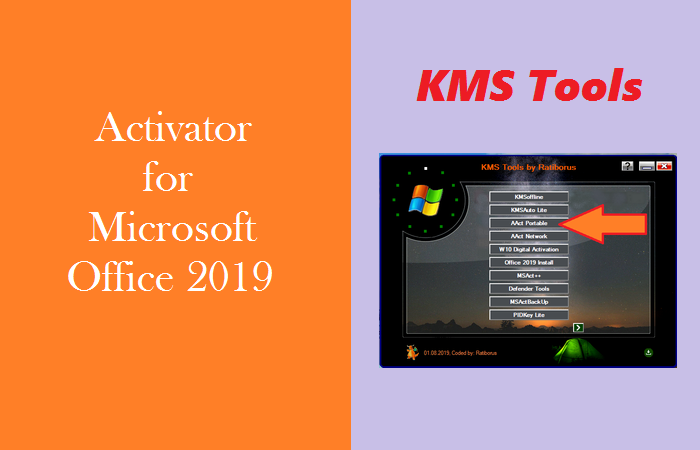 The Best Activator for Microsoft Office 2019 - KMS Tools