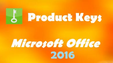 Photo of Microsoft Office 2016 Product Key Free