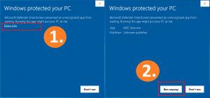 How to ignore Smart Defender to activate Office 2019