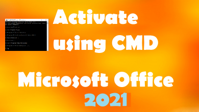Photo of Activate Office 2021 without Product Key for Free using Bath File